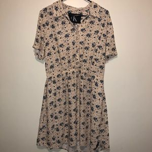 Calvin Kline Dress Feminine and Vintage